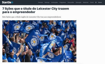7 lições que o título do Leicester City trazem para o empreendedor