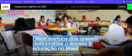 Cinco startups que querem democratizar o acesso à educação no Brasil