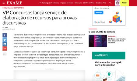 VP Concursos lança serviço de elaboração de recursos para provas discursivas